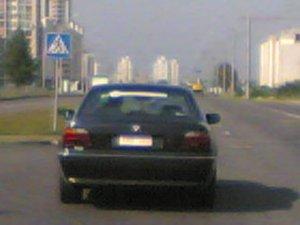 Та самая BMW с наклеечкой